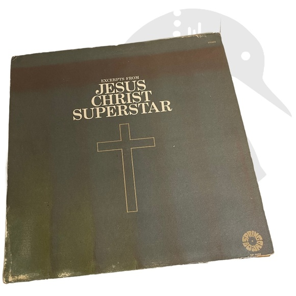 Vintage Jesus Christ Superstar Vinyl Record
